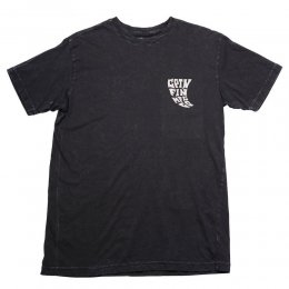 Captain Fin T-Shirt Skeg Tee Off Black