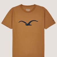 Cleptomanicx T-Shirt Basic Tee Mowe Bone Brown