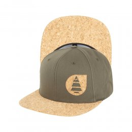 Picture Narrows Kork Cap Snap Dark Army Green