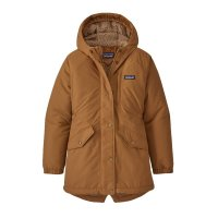Patagonia Jacke Kids Insulated Isthmus Parka Umber Brown