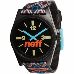neff DAILY Woven Watch Uhr Tribal Beach