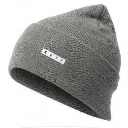 neff Lawrence Beanie Charcoal Heather