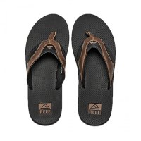 reef LEATHER FANNING Zehentrenner Black/Brown