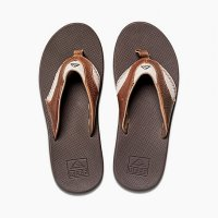 reef LEATHER FANNING Zehentrenner Brown/Brown