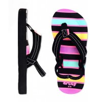 reef LITTLE AHI Kids Zehentrenner Black/Multi