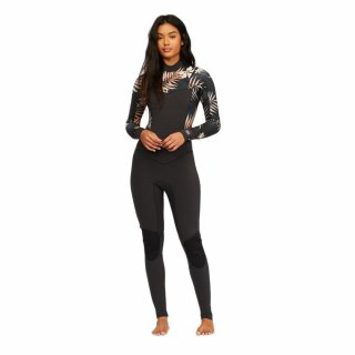 Billabong Salty Dayz 5/4 Free Zip Frauen Neoprenanzug Black Pepple