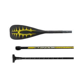 Chinook SUP Paddle Thrust 82 Vario 3-Piece Carbon ABS Edge