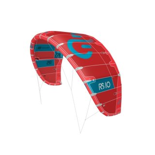 Eleveight RS-Series Freeride 3-Strut Kite 2020 10m Rot