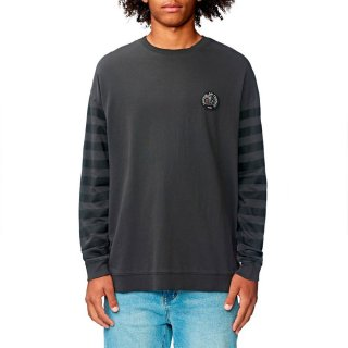 Globe Carrier Crewneck Sweater Washed Black M