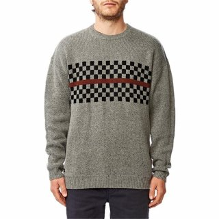 Globe Duster Sweater Grey Nep S