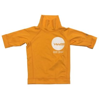 HW-Shapes Turtleneck Kids Rashguard Orange M (132-140)