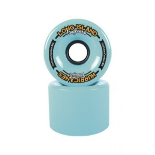 Long Island HURRICANES Freeride 71mm/83a Turquoise (4er Set)