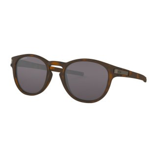 Oakley Latch Sonnenbrille Matte Brown Prizm Grey