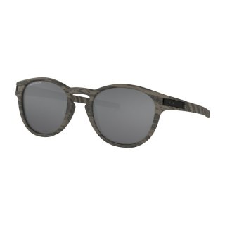 Oakley Latch Sonnenbrille Woodgrain Prizm Black Polarized