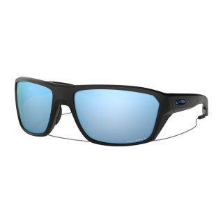 Oakley Split Shot Sonnenbrille Matte Black PRIZM Deep H2O Polarized