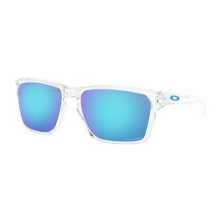 Oakley Sylas Sonnenbrille Polished Clear Prizm Sapphire Iridium