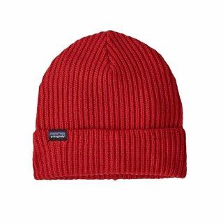 Patagonia Fishermans Rolled Beanie Hot Ember