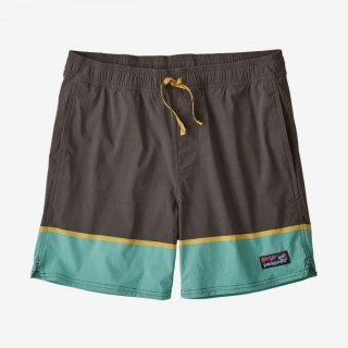 Patagonia Stretch Wavefarer Volley Short Forge Gray