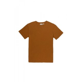 Rhythm. Almond Shirt Premium Linen Brown S