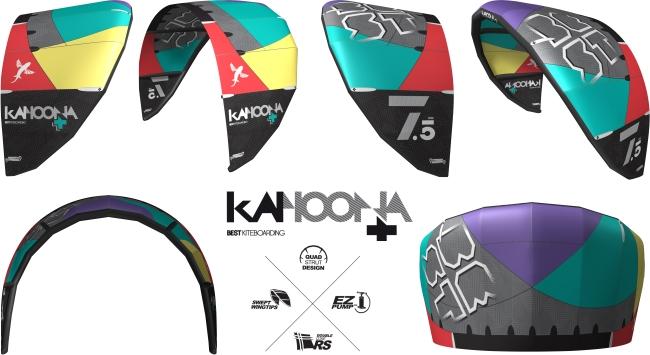 Kahoona V5+ Ansichten